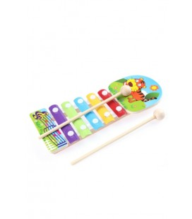 Learning Toys Animal Knock Xylophone / EYM18-T