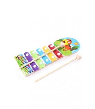 Learning Toys Animal Knock Xylophone / EYM18-T