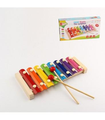 Hand Knock Wood Toys Piano
