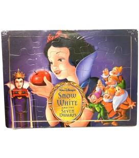 25 Parça Puzzle Pamuk Prenses ve Yedi Cüceler