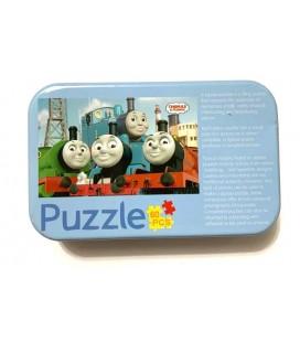 60 Parça Puzzle Lokomotif
