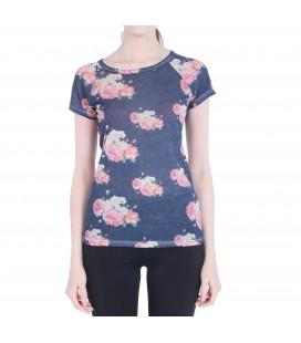 Hummel Rianna Kadın Çiçek Desenli Tişört T08131-7459