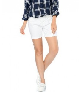 Mavi Kadın Jean Şort - Pixie Beyaz 1437017788