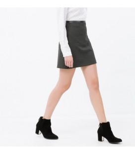 Koton Kadın Klasik Etek - Lacivert Beyaz 6YAK72318CWB71