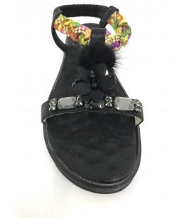 Adimle Kadın Sandalet Fay01354S Siyah