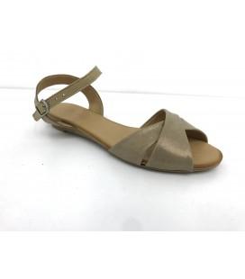 Sandal Kadın Sandalet Fosforlu Bej Renk