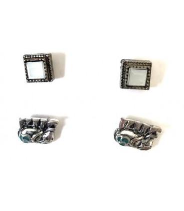 Koton Kadın Çoklu Küpe Seti - Gümüş Rengi 7KAL70199AA025