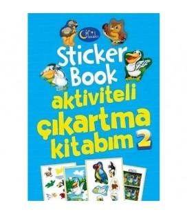 Sticker Book Aktiviteli Çıkartma Kitabım 2 - Kolektif - Masalcı