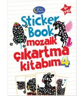 Sticker Book Mozaik Çıkartma Kitabım 4 - Kolektif - Masalcı