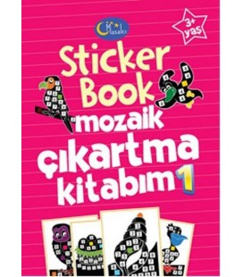 Sticker Book Aktiviteli Çıkartma Kitabım 1 - Kolektif - Masalcı