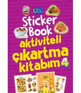 Sticker Book Aktiviteli Çıkartma Kitabım 4 - Kolektif - Masalcı