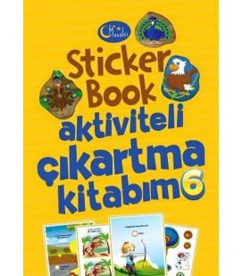 Sticker Book Aktiviteli Çıkartma Kitabım 6 - Kolektif - Masalcı