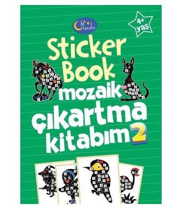 Sticker Book Mozaik Çıkartma Kitabım 2 - Kolektif - Masalcı