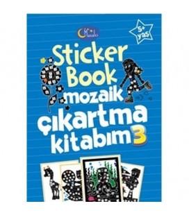 Sticker Book Mozaik Çıkartma Kitabım 3 - Kolektif - Masalcı