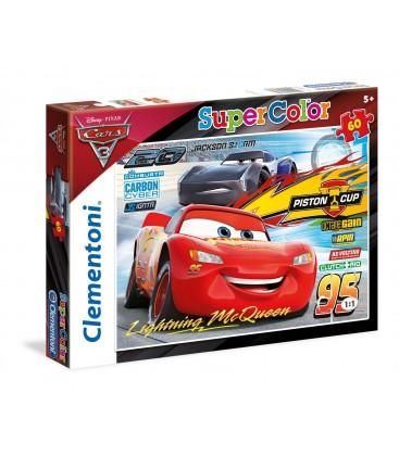 Clementoni - 26973 - Supercolor Puzzle - Cars 3 - 60 Parça