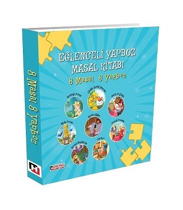 Mavi Eğlenceli Yapboz Masal Kitabi 8 Masal 8 Yapboz
