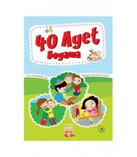 Nesil Çocuk Yayınları 40 Ayet Boyama 177395
