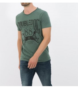 Koton Erkek Yazılı Baskılı T-Shirt - Yeşil 6KAM11643LK01A
