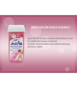 Agiss Sir Ağda Rollon Pudralı 100 ml