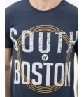 Koton Erkek Baskılı T-Shirt - Lacivert 6KAM11543LK725