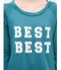 Koton Kadın Reglan Kollu Sweatshirt - Yeşil 6KAL11816JK757