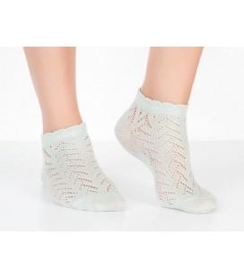 Madame Coco File Patik Kadın Çorabı - Mint Yeşili 1kcorp0021529