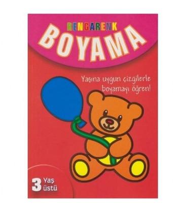 Rengarenk Boyama 3 Yaş Üstü - Kolektif Parıltı Yayınları