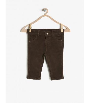 Koton Erkek Çocuk Normal Bel Pantolon Kahve 7KMB48456OW500