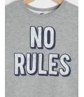 Koton Kids Baskılı, Uzun Kollu, Bisiklet Yaka T-Shirt  7KKB18194AK023