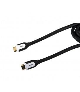 Eye-Q EQ-14VHDMI20 Altın Uçlu 2M Siyah HDMI Kablosu