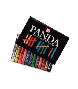 Talens Panda 12 Fine Qualıty Oıl Pastel  Boya
