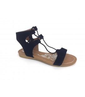 Miss i.f.s  Kadın Siyah Sandalet