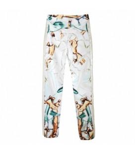 OopsCool Kadın Pantolon Sequined Gold Pant Pantalon 15Y401