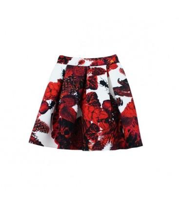 OopsCool Kadın Etek Botanical Skirt Etek 15Y504