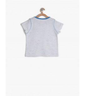 Koton Kids Pembe Kız Çocuk Desenli Elbise 7KMG89540OKA04