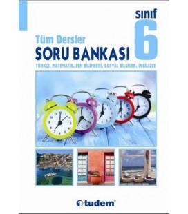 6. Sınıf Tüm Dersler Soru Bankası - Tudem Yayınları