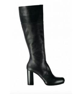 Derimod Hakiki Deri Siyah Kadın Çizme 17WFD242414