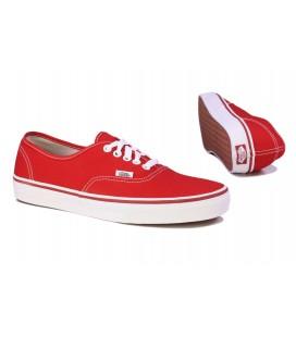 Vans Kadın Kırmızı Spor Ayakkabı Authentic red VN-0EE3RED