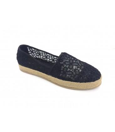 Graceland Kadın Siyah Bez Ayakkabı
