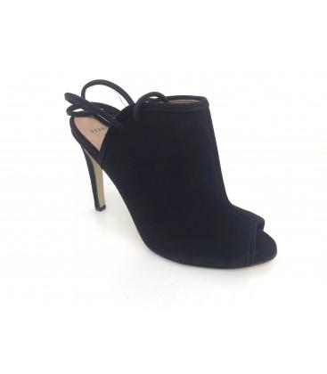 Ömer İpekci Arcadia Kadın Topuklu Siyah Süet Ayakkabı