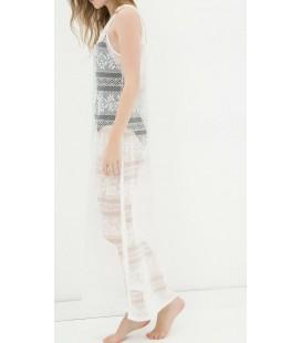 Koton Kadın Kolsuz Elbise - Beyaz 6YAK88412OK000