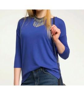 Defacto Kadın Mavi Bluz G7423AZ