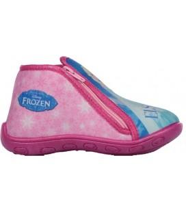 Frozen Kız Çocuk Elsa Panduf Ev Kreş Ayakkabısı 90133 Parfümlü