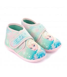 Frozen Kız Çocuk Panduf - Elsa Panduf Cırt Cırtlı 90125