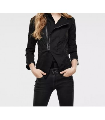 G-Star Raw Vin Overshirt Kadın Siyah Ceket 93104E-6488-990