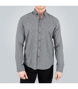 Tudors Slim Fit Kışlık Gri Erkek Gömlek DR15114-670