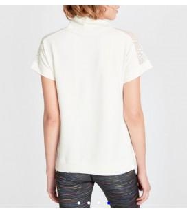 Lc Waikiki Ekru Standart Kısa Kol T-shirt 9SM080Z8