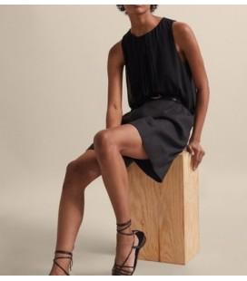 Massimo Dutti Kadın Siyah Bluz 6885/731/800