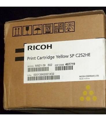 Ricoh Orijinal Sarı Toner  SP-C252HE