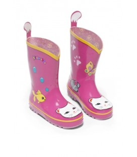 Kidorable Kız Çocuk Kelebek Yağmur Botu